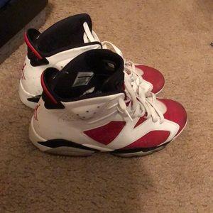 Jordan Retro Carmine 6s
